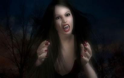 Vampire Wallpapers Vampires Fantasy Wampir Kobieta Vampiros