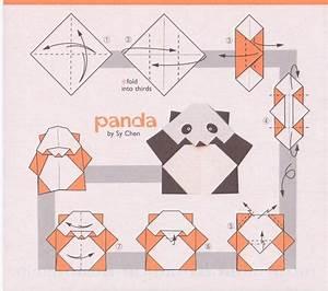 Easy Origami Panda Instructions