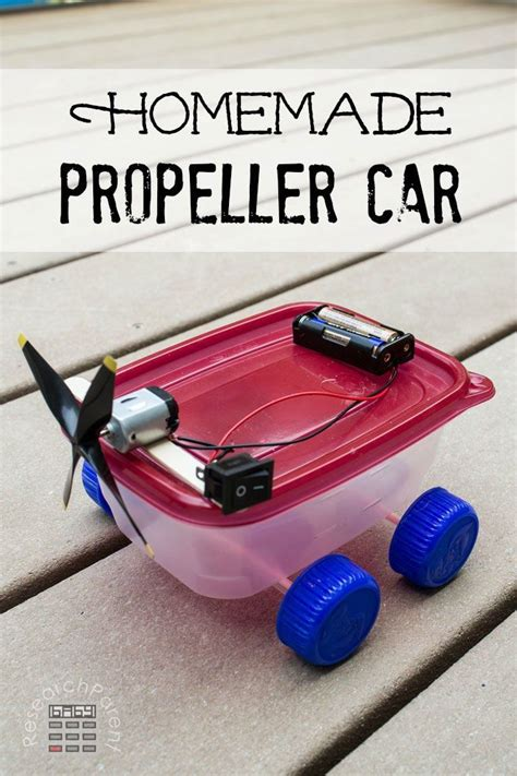homemade propeller car science experiments kids science
