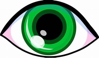 Eye Clip Clipart Cartoon Sight Eyes Sense