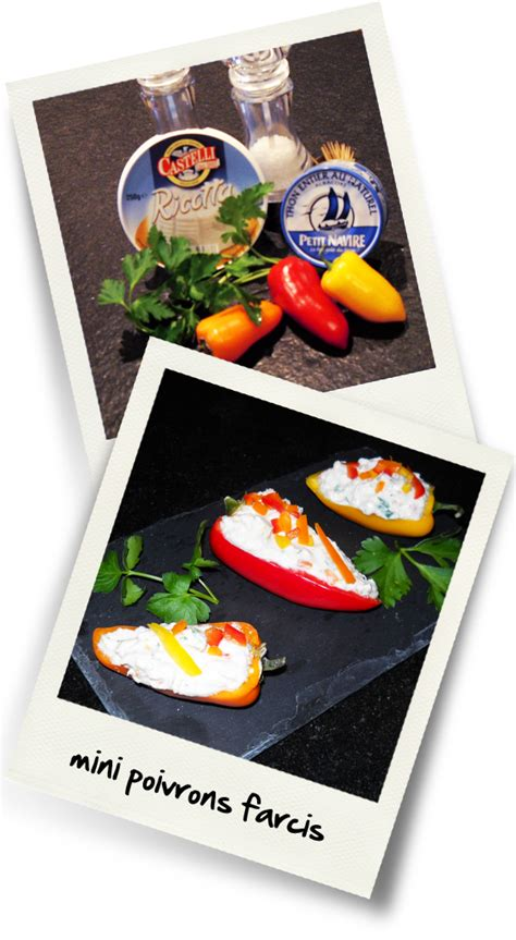 poivron cuisine mini poivrons farcis christiane cuisine