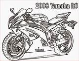 Coloring Motorcycle Pages Printable Bikes Filminspector Template sketch template