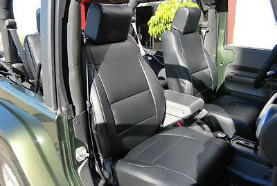 jeep wrangler   iggee sleather custom seat cover