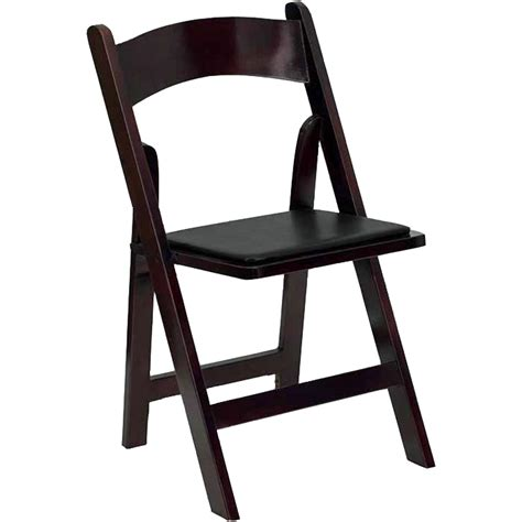 mahogany folding chair wood chair goodwin events