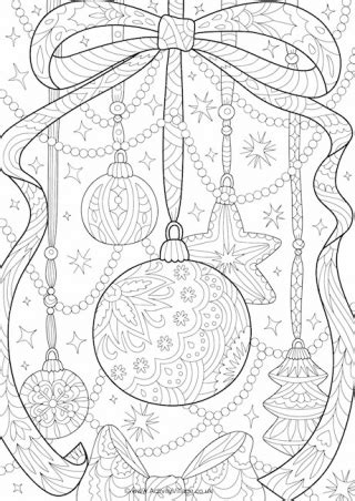 activity village christmas colouring pages for and adults