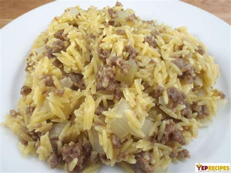 Italian Sausage And Parmesan Orzo Yeprecipes
