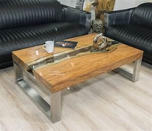 Wohnzimmertisch Glas Holz : eckiger designer wohnzimmertisch 120 x 80 cm aus holz der tischonkel ~ Markanthonyermac.com Haus und Dekorationen