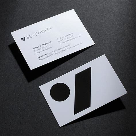 simple  modern visit  card design ideas