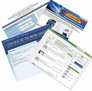 Certificat De Conformité Volkswagen Gratuit : certificat de non gage attention aux sites qui vendent du gratuit photo 3 l 39 argus ~ Farleysfitness.com Idées de Décoration