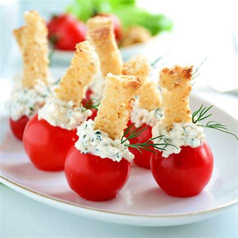 az cuisine recette apéritif frais tomates et chèvre