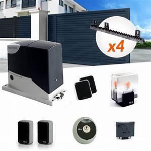 Telecommande Portail Xp 300 : motorisation portail coulissant kit nice road 400kg ~ Edinachiropracticcenter.com Idées de Décoration