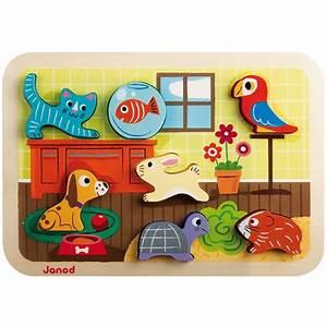 Puzzle En Bois Bébé : puzzle encastrement chuncky animaux janod pour enfant de 18 mois 3 ans oxybul veil et jeux ~ Dode.kayakingforconservation.com Idées de Décoration