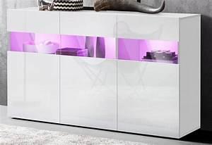 Otto Kommode Weiß Hochglanz : sideboard breite 130 cm online kaufen otto ~ Lateststills.com Haus und Dekorationen