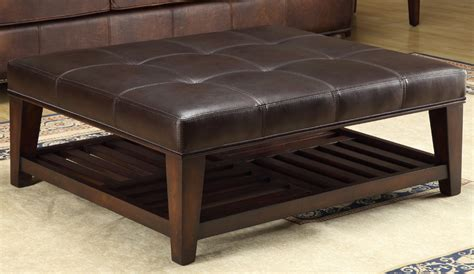 48 Inch Square Ottoman by Ottoman End Tables More Lazzaro Leather Occasionals