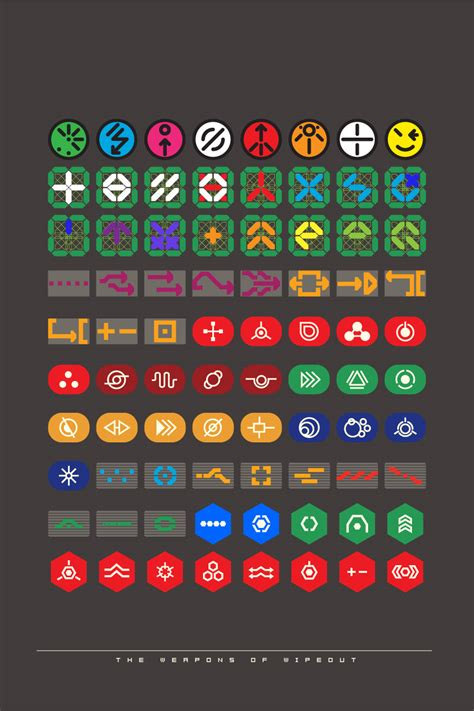 wipeout weapons icons weapon icon atk wikia wiki attack