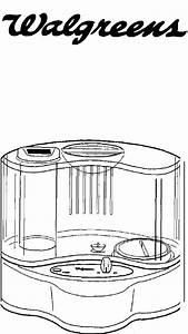 Walgreens Humidifier 693 809996 User Guide