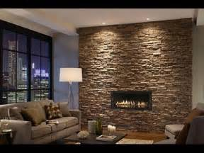 wandgestaltung wohnzimmer stein wohnzimmer ideen wandgestaltung stein inspiration design familie natursteinwand im