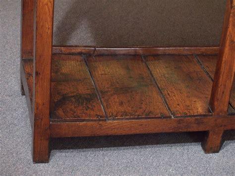 antique oak south wales dresser base with potboard