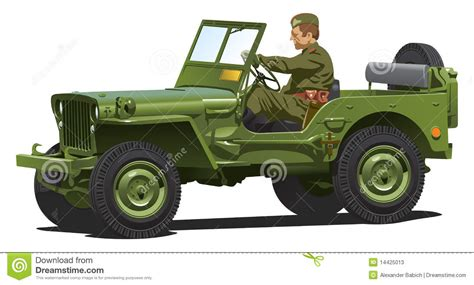 ww2 jeep drawing world war two army jeep stock vector image of vintage
