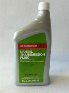 Genuine Honda Mtf Manual Transmission Fluid Fits Most