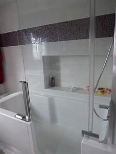 jean marc sol installation salle de bains cles en main With porte d entrée pvc avec carrelage salle bain