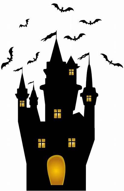 Halloween Transparent Castle Clip Clipart Yopriceville