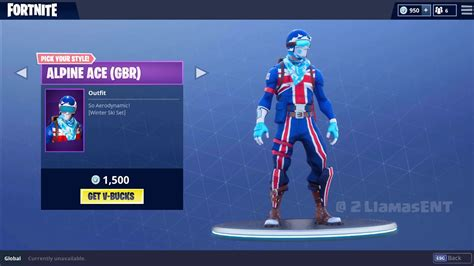 Fortnite Battle Royale - [EPIC] Alpine Ski outfit - All Seven Countries - YouTube