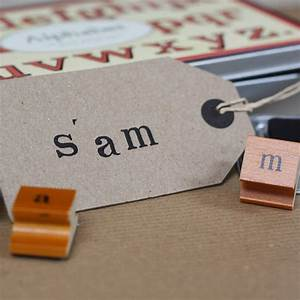 rubber alphabet stamps and ink pad lower case by the With individual letter rubber stamps