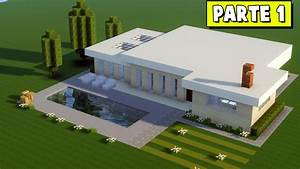 Minecraft Tutorial Casa Moderna Grande 331 PARTE 1