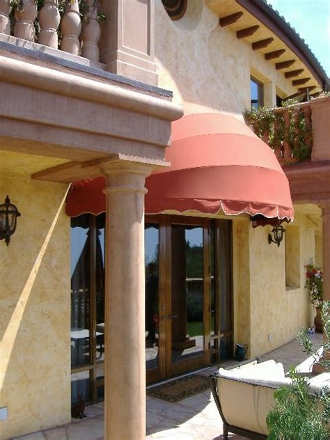 awnings los angeles eyebrow awning mediterranean exterior los angeles