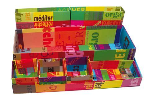 organisateur de bureau set 8 bo 238 tes modulables multicolore caroline lisfranc