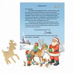 personalized letter from santa With miles kimball letter from santa
