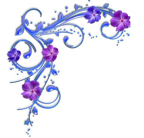library  elegant purple flower image freeuse stock png