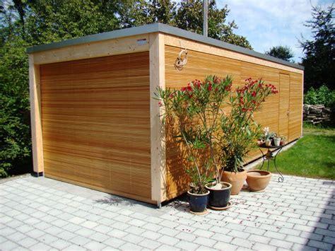 Holz Garage  Baumberger Bau Ag