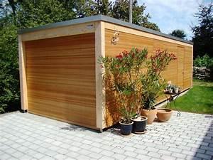 Garage Mit Holz Verkleiden : holz garage baumberger bau ag ~ Watch28wear.com Haus und Dekorationen