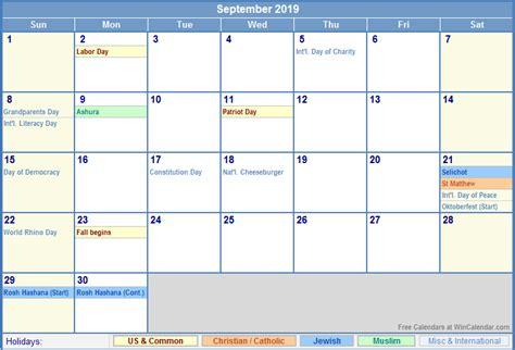 september calendar holidays uk calendar holidays