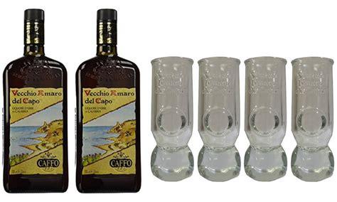 Bicchieri Amaro Capo by Amaro Capo 1 L E Bicchieri Groupon Goods