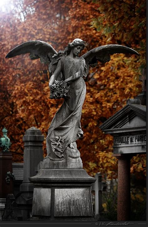 angels statues  common  cemetaries arte cemiterio