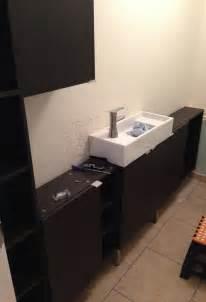 narrow bathroom units ikea hackers ikea hackers
