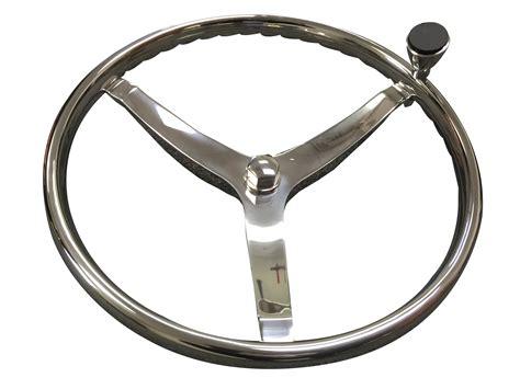Boat Steering Wheel Turning Knob by Marine Boat 3 Spoke Ss Steering Wheel Turning Knob Finger