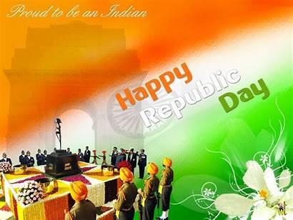 Republic Happy January India Wallpapers Indian Wishes