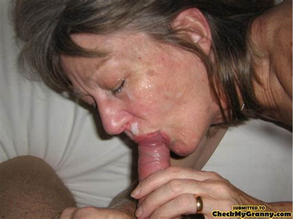 #Blonde #Amateur #Granny #Gets #Her #Face #Cum #Cov