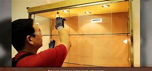 How To Install A Sliding Glass Cabinet Door Construction