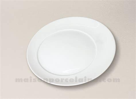 la maison de la porcelaine assiette dessert porcelaine blanche kosmos d23 maison de la porcelaine