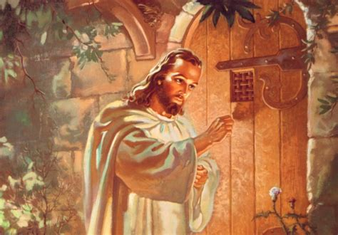 jesus knocking at the door resurrection is openness davao catholic herald
