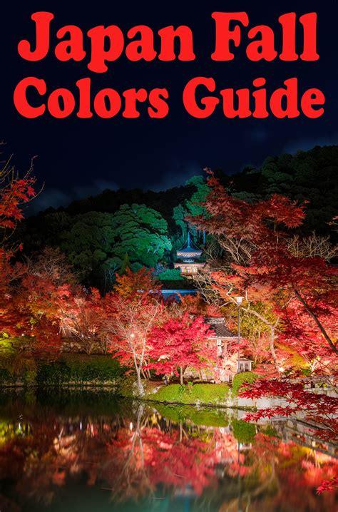 japan fall colors autumn foliage guide travel caffeine