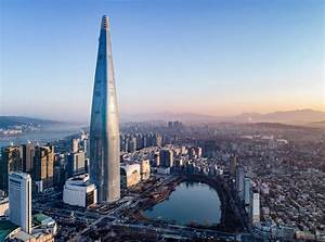 Lotte World Tower marks the tallest building in South ...