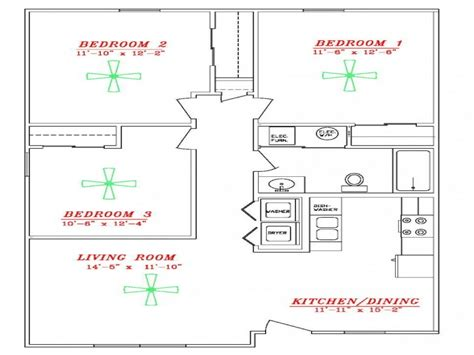 Most Efficient Floor Plans by Energy Efficient Home Designs Floor Plan Most Energy