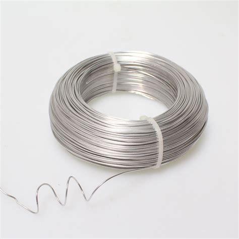 schweißdraht 1 mm aluminiumdraht aludraht alu draht 1mm x 120m silber 250g floristik basteln bedarf draht