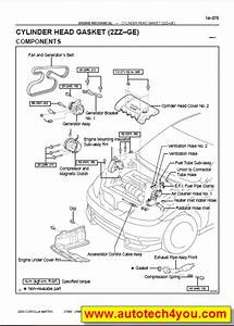 Toyota Matrix Service Manual 2003